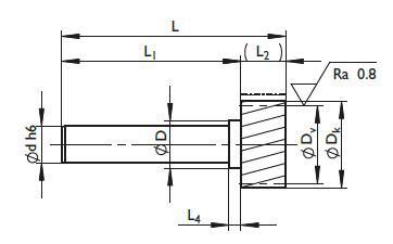 Dimensional drawing 211xxx