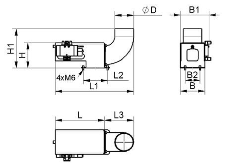 Dimensional drawing 10.01.22.01623
