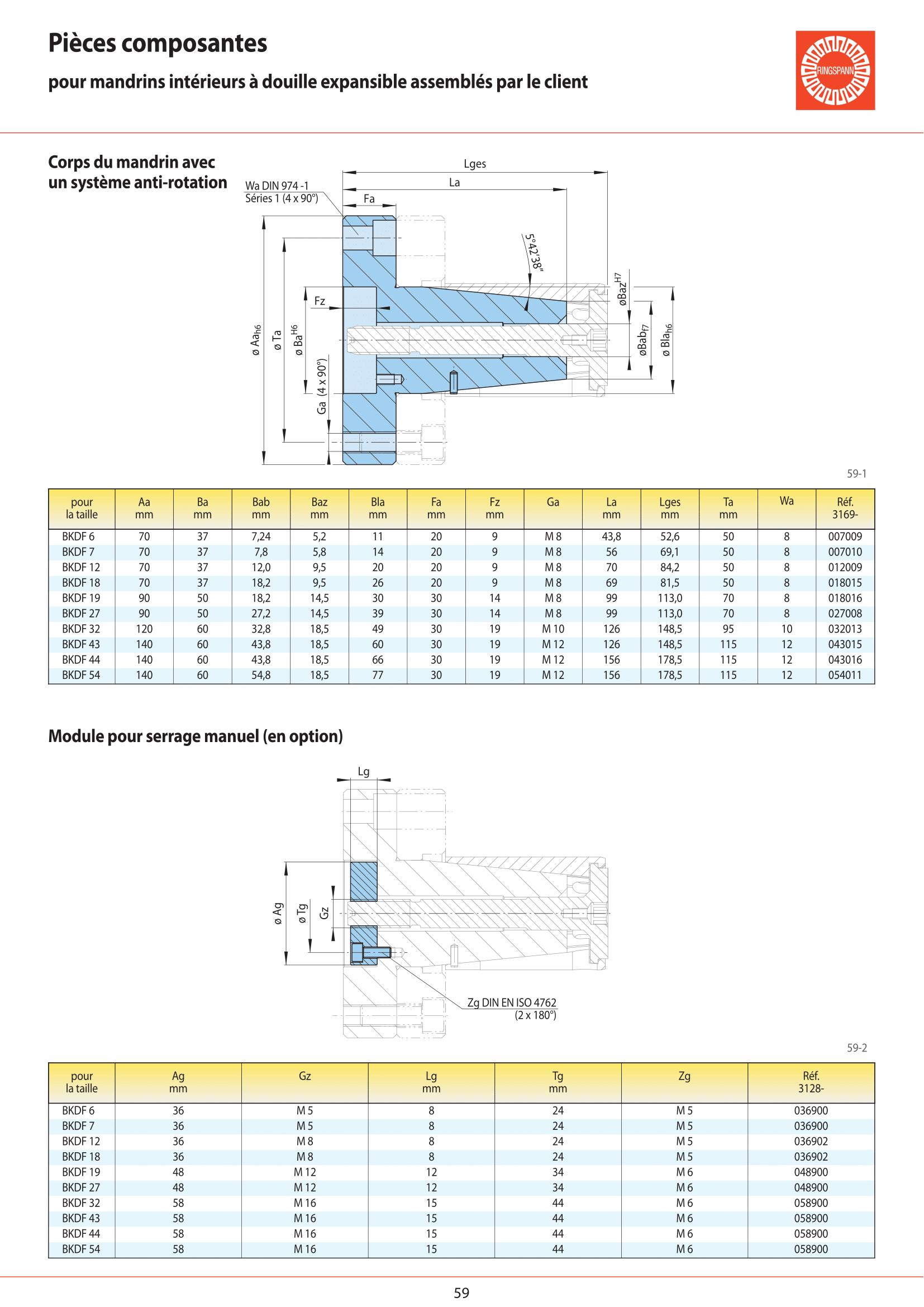 Fiche technique - BKDF 19 page 8
