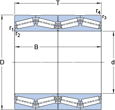 Dimensions TQON.1/GW