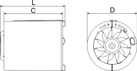 Technical drawing (B)