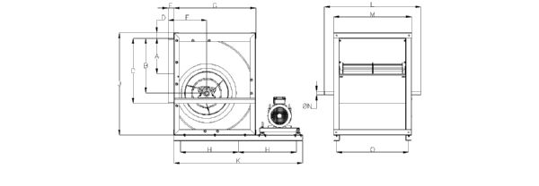 Technical drawing (From the size 20 to 30)
