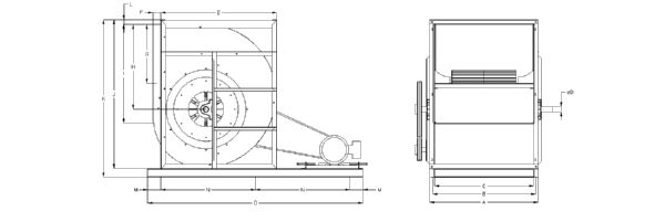 Technical drawing (Size 36)